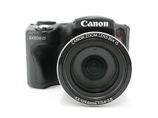 [Exc+]Canon PowerShot SX500 IS 16.0 MP Digital Camera Black freeship from Japan