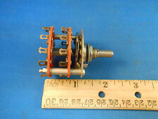180296H2  ROTARY SWITCH   SHAFT LENTH 1./DIA .25 BREAKS BEFORE MAKES NOS