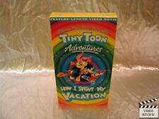 Tiny Toon Adventures - How I Spent My Vacation (VHS, 1992) Animated
