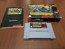 super ghouls 'n ghost super  NINTENDO PAL USA NTSC  snes