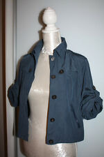 Burberry Blue Short Sleeve Waterproof Jacket Mac Coat Size XS, UK 4-6, 16 Years