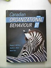 Canadian Organizational Behaviour 9th Edition by Steven L. McShane