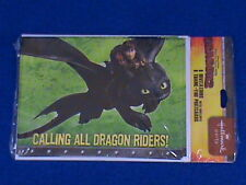 HOW TO TRAIN YOUR DRAGON 2 BIRTHDAY PARTY INVITATIONS THANK YOU CARDS 8 CT. EACH