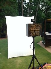 Free Standing LARGE Portable iPad Photo booth with Stand for Weddings/Parties