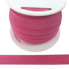 TEN 10 YARDS- Fold Over Elastic HOT PINK- baby cloth-straps-diaper-lingerie