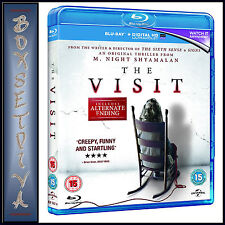 THE VISIT -  Kathryn Harn & Ex Oxenbould *BRAND NEW BLU-RAY ***