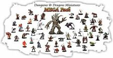 25 PACK - Dungeons & Dragons / Pathfinder Miniature LOT D&D Figures, minis LARGE
