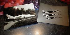 Anciennes Photos de Presse Avions Alfa Jet les 3 Prototypes Breguet BAC Jaguar