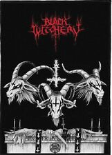 BLACK WITCHERY BACKPATCH / SPEED-THRASH-BLACK-DEATH METAL