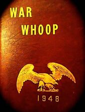 "1948 NORWICH UNIVERSITY YEARBOOK ""War Whoop""  VT~ founding chapter of THETA CHI"