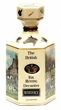 Fox Hunting Whisky Decanter collectable Pointer of London gift Boxed NEW