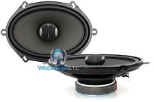 "FOCAL IC570 5"" X 7"" 120W RMS 2WAY ALUMINUM TWEETERS INTEGRATION COAXIAL SPEAKERS"