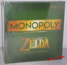 The Legend Of Zelda Collectors Edition Monopolio Gamestop Exclusive Sellado Perfecto
