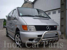 MERCEDES VITO AXLE BULL BAR WITH ''VITO'' LOGO A-BAR 1996-2003 , 60MM IST.