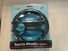 Playstation 3 PS MOVE * Logic 3 Sports Wheel for PS MOVE * PS3