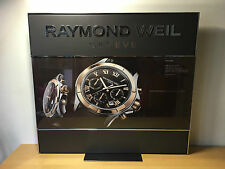 Used in shop - Display RAYMOND WEIL Expositor - 54 x 48 cm - Usado en tienda