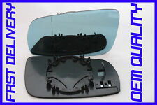 VW GOLF 4 IV 1997-06 DIRECT CLIP ON WING MIRROR GLASS BLUE ESPEJO LEFT