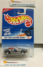 BMW M Roadster #518 w/ 5sp Rims * Silver * 1997 Hot Wheels * L28