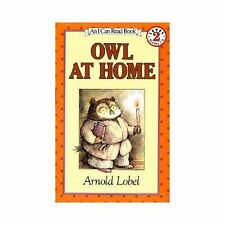 I Can Read Level 2: Owl at Home by Arnold Lobel (1982, Paperback)