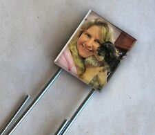 Custom Photo Scrabble Bookmark Personalized Picture Pet Child Keepsake Art Charm