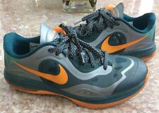 NIKE Air Max Ham Men's Orange Forest-Green Basketball Shoes Size 8.5 #579580-002