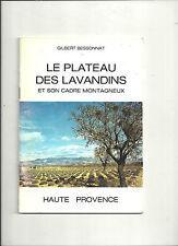 Le plateau des lavandins et son cadre montagneux Haute Provence Bessonnat E1