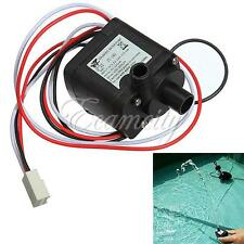 DC 12V 6W Brushless Pump Motor Micro for PC Water Cooling System 3pin Connector