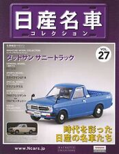 [MODEL+BOOK] Nissan meisha collection vol.27 1/43 Datsun Sunny Truck B120 Japan
