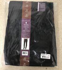 NWT Gloria Vanderbilt AMANDA Original Slimming Jeans Sz. 18 NEW