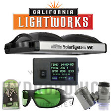 California Light Works-SolarSystem 550 Program.Spectrum LED GrowLight&Controller