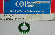 Thunder Tiger Model R/C Car Parts PD1345 2-Speed Pinion Gear 16T EB4 S2 Touring