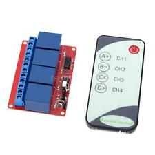 Four-way Four-channel IR 12V Remote Control Relay Module Indication OUT1/2/3/4