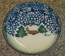 TIENSHAN CABIN IN THE SNOW SERVING BOWLS