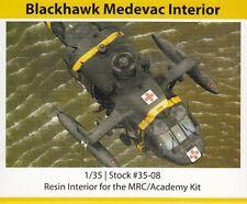 Werner's Wings Resin 35-08 UH-60 Blackhawk Medevac Interior