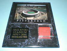 PIRATES THREE RIVERS STADIUM RED SEAT PLAQUE - NICE