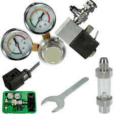 Dual Gauge CO2 System Pressure Regulator w/ Bubble Counter Aquarium Tank Planted