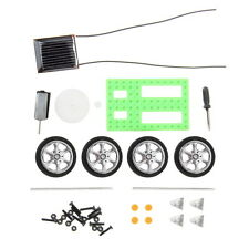 Mini Solar Powered Motor Toy DIY Kit Car Educational Gadget Hobby Robot Electric