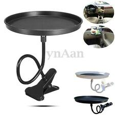 Portable Car Swivel Clip Holder Tray Desk Cup Bottle Drink Food Stand Table 1KG