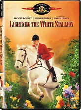 Lightning, the White Stallion (DVD) Mickey Rooney, Susan George NEW sealed