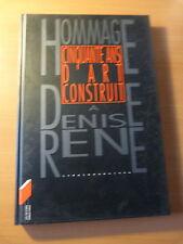 Alsace Strasbourg 1996-Hommage à Denise René-Cinquante ans d'art construit