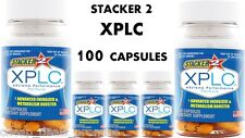 Stacker 2 XPLC 2 20/Bottle Energy Weight Loss Dietary (Lot of 5 X)= 100 Capsules