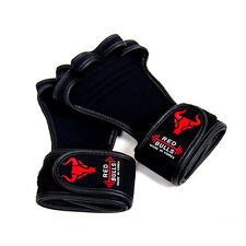 Fitness Gloves Gym Weight Lifting Workout Wrist Wrap for Women Size Black
