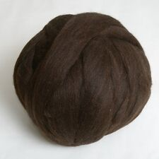 100g*Black*PROFESSIONALLY COMBED SHETLAND FLEECE* Natural.wool.tops.roving.pure