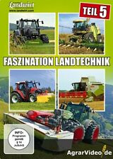 DVD Faszination Landtechnik - Teil 5 Deutz-Fahr Claas New-Holland Feldhäcksler