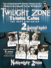 Twilight zone la prochaine dimension trading cards sales sheet