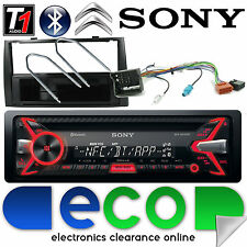 Peugeot RCZ Sony CD MP3 USB Bluetooth Handsfree Ipod Iphone Stereo Kit Black