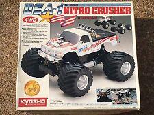 Vintage Kyosho Nitro Crusher USA-1 Monster Truck 4x4