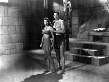 Johnny Weissmuller and Linda Christian photo - B3080 - Tarzan and the Mermaids