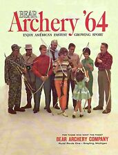 1964 Bear Archery Equipment Catalog  - Reproduction