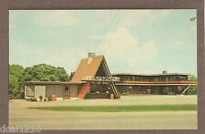 VINTAGE POSTCARD UNUSED RANCH MOTEL & DRIVE IN SPOFFORD NEW HAMPSHIRE